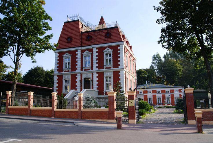 """Willa """"Red"""" w Ustce wybudowana w roku 1886 jako letnia rezydencja Otto von Bismarcka. Obecnie - hotel."""