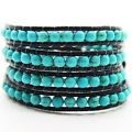 GENUINE BY HAND TURQUOISE GEMSTONE WR...
