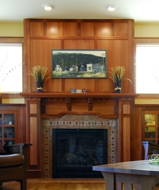 Fireplace Mantel - Lyptus