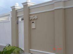 Resultado de imagen para muro  fachada residencial altos com viga fora a fora  colonial