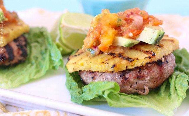 » Hawaiian Turkey Burgers Against All Grain – Award ...