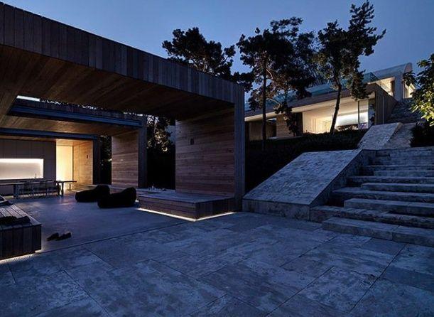 Dvě verandy. Design: Gus Wüstemann.