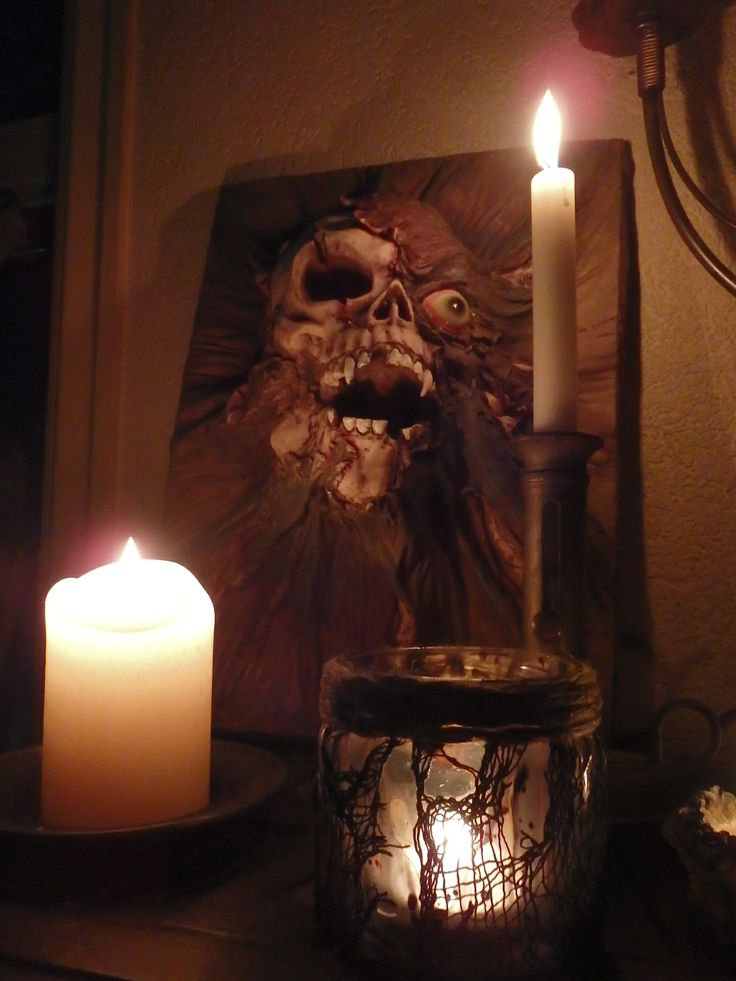 Homemade haunted house decorations