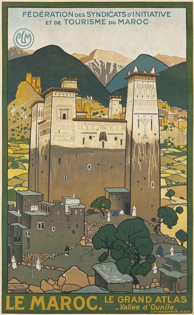 Jacques Majorelle 1886 1962 LE MAROC 1923 973