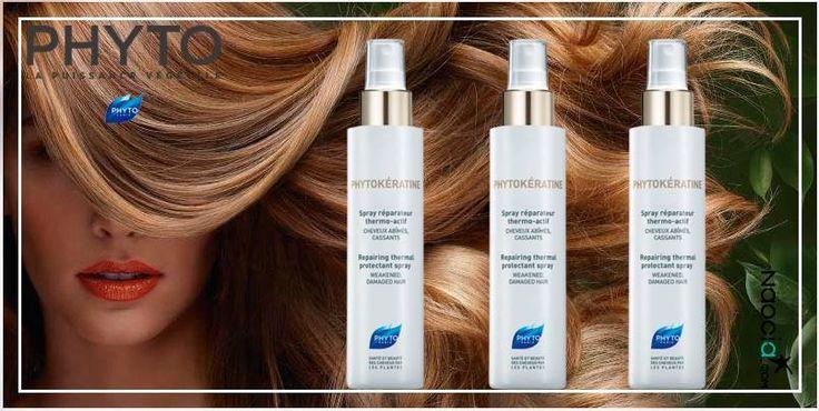 [Naoconseil] Protéger vos #cheveux de la chaleur (sèche cheveux, lisseur, boucleur) pour garder un cheveux plus fort et plus #doux! #phytokératine #hair #beautifulhair #phyto Phyto Paris