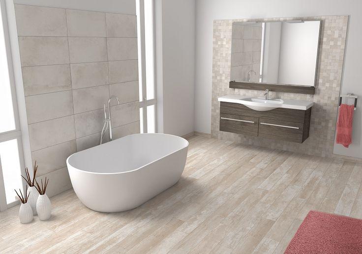 Keramisch parket: perfect voor de badkamer!