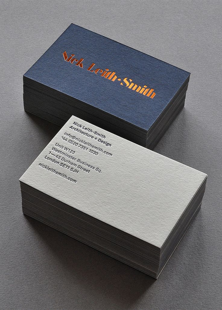 Nick Leith-Smith branding by Tim George #graphicdesign #businesscard #inspiration