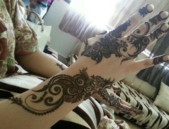 Henna Tattoo Dubai Price: #arabic #dubai #mehendi #design