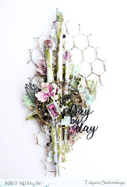 Mixed Media & Art: Day by day. Tatyana Sadomskaya