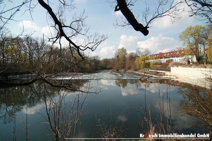Leinewehr - Nicht zum baden, aber zum verweilen lädt das Leinewehr an seine idyllischen Ufer ein.
