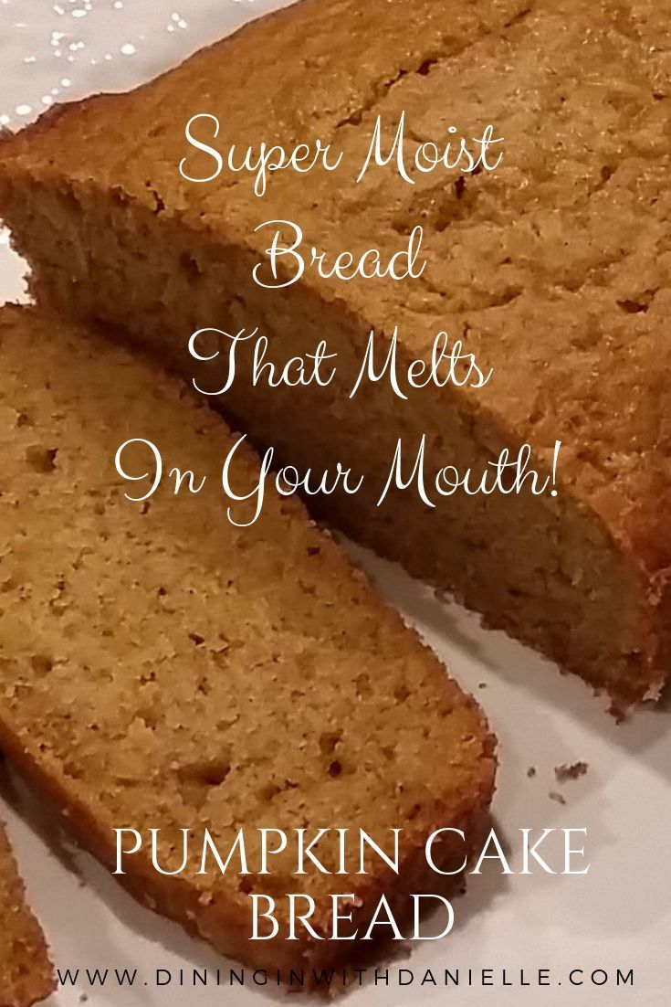 Pumpkin Cake Bread Evaporated Milk Recipes Pumpkin Recipes Pumpkin Cake