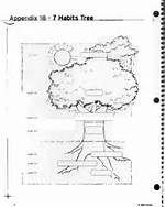 7 habits tree diagram bing images - 7 Habits Tree Coloring Page