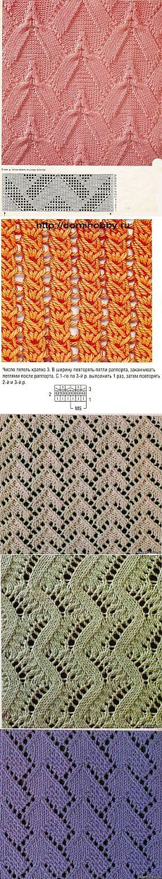 Knitting: knitting patterns