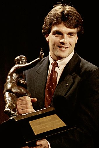 1984 Doug Flutie - Boston College, Heisman Trophy winner. I loved watching him play college football and NFL. Such talent!!!