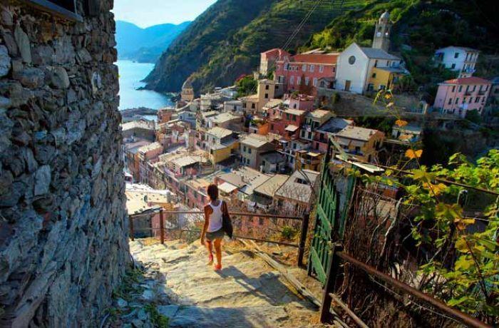 Cinque Terre, Riviera Italiană
