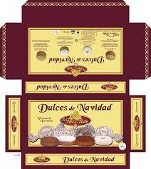 bandejas con productos y dulces de navidad - Buscar con Google