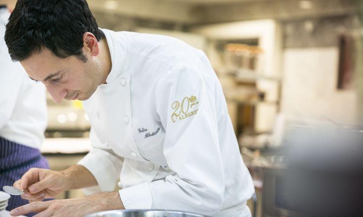 Leone Felice dell'Albereta, Erbusco, Brescia - chef Fabio Abbattista