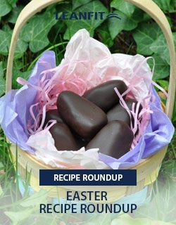 We've compiled a list of favourite's from LeanFit Food Bloggers to create the ultimate Easter Recipe Roundup. Decorate your healthy creations to form kid-friendly Easter bunnies, bright orange carrot sticks for pre workout energy, or colorful Easter eggs to decorate your home. Plenty of substitutions can be made to fit your dietary needs and preferences.