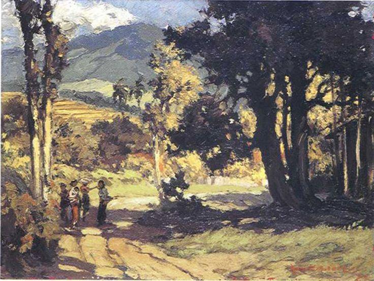Gerard-Adolfs, (1987-1908, -Pemandangan-Di-Modjo-Agung
