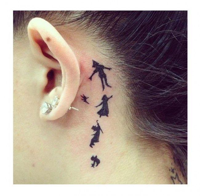 Tatuaże jak z kreskówki! 20 wesołych wzorów dla dziewczyn