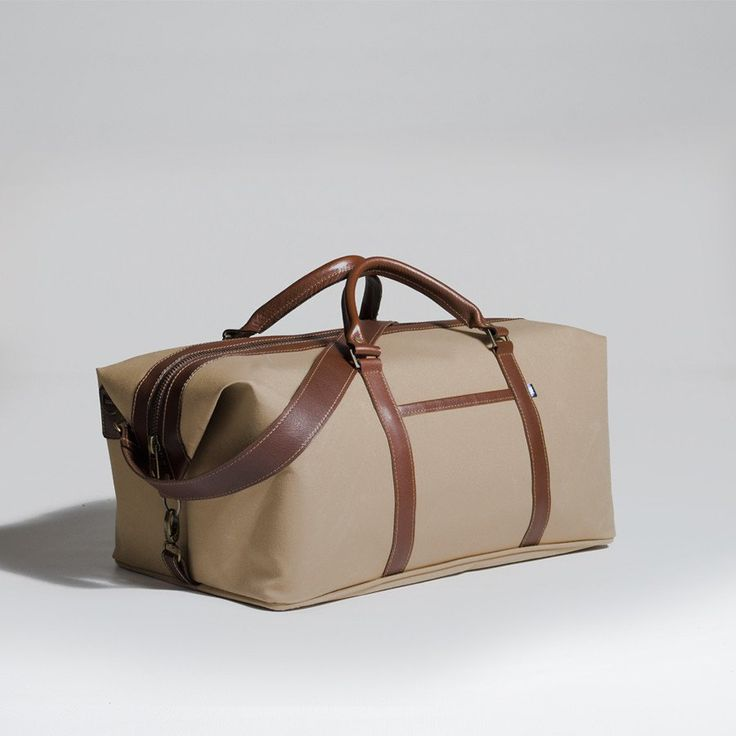 The Forge Weekender in sand by Mother Co. Made in Canada  - $169