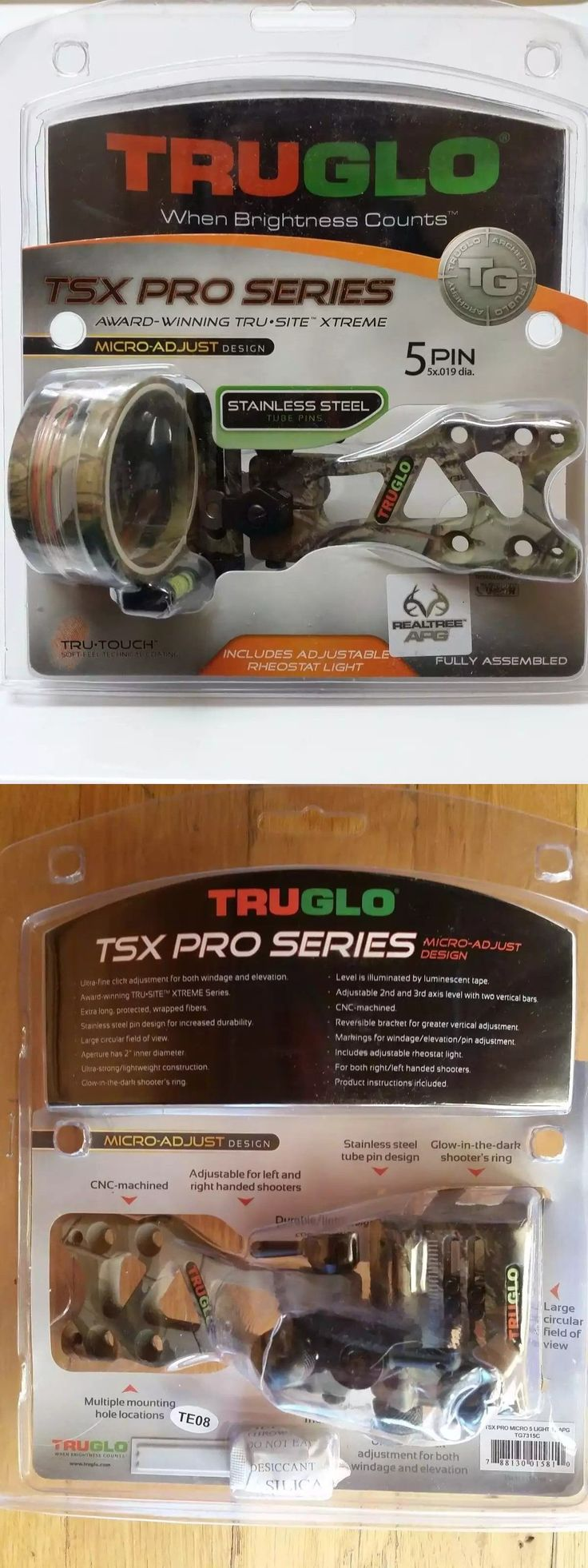 Sights 20845: Truglo Tsx Pro Serie 5-Pin Sight Micro Rt Apg Archery Compound Bow Accessories -> BUY IT NOW ONLY: $38.95 on eBay!