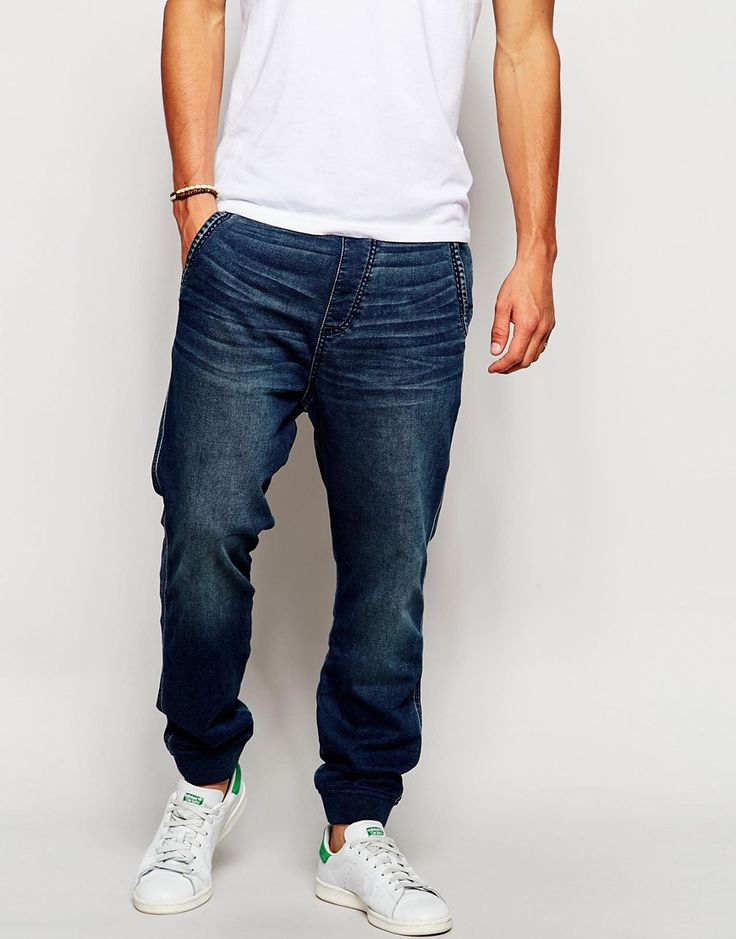 Abercrombie & Fitch Denim Joggers