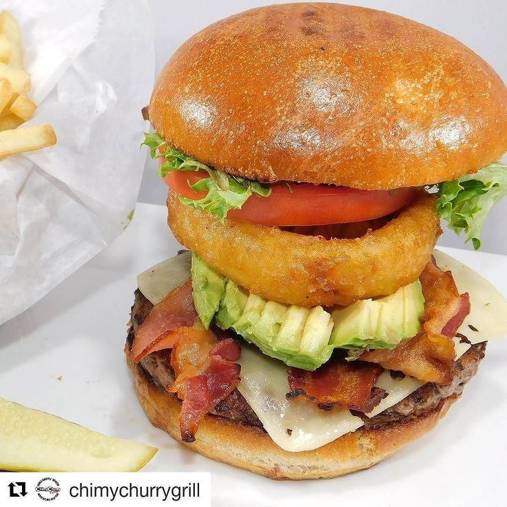 "#Repost @chimychurrygrill (@get_repost)  Joining our menu ""Gran Argentina Burger""  8oz angus blend burger on brioche bun Avocado  bacon  Swiss Cheese spring mix & onion ring we are waiting for you at ChimyChurry Grill  Follow  @CHIMYCHURRYGRILL 1403 East Hallandale Beach Blvd Lunch specials from 11.30 till 4pm. Happy Hour 3-7 pm Saturday & Sunday a la  Carte Brunch  #avocado #instagood #nomnom #nomnomnom  #instagood #foodporn #argentineanFood  #foodpic    #HollywoodTapFL #HollywoodFL…"