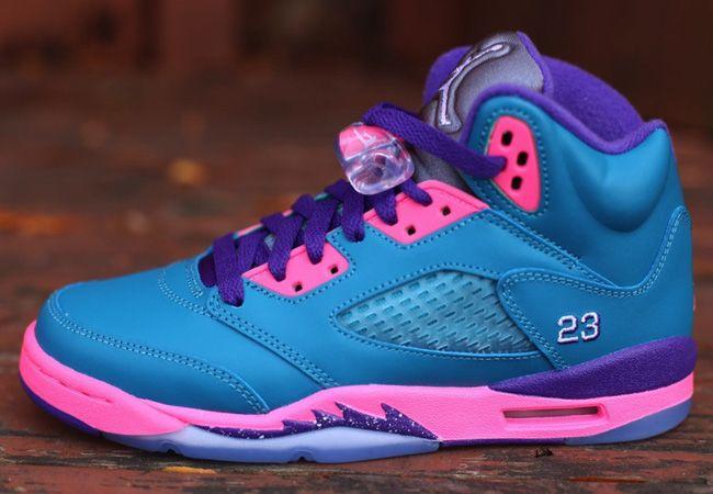 air jordan retro 5 purple pink