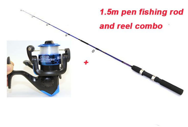 Pen Fishing Rod with fishing reel combo for kid and adult.   Brand new, good quality and most of all it is very cheap