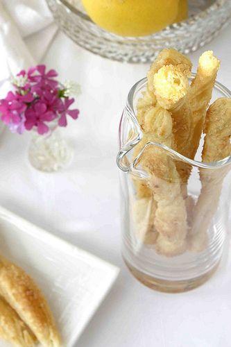 Lemon Sugar Puff Pastry Sticks | cookincanuck.com #dessert
