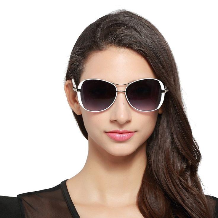 Солнцезащитные Очки для Женщин: HDCRAFTER 2017 Luxury brand Women Sunglasses New elegant glasses anteojos de sol mujer Sunglasses for Female oculos de sol