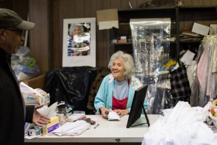 Felimina Rotundo este o batranica de 101 din Bufallo, SUA, care continua sa…