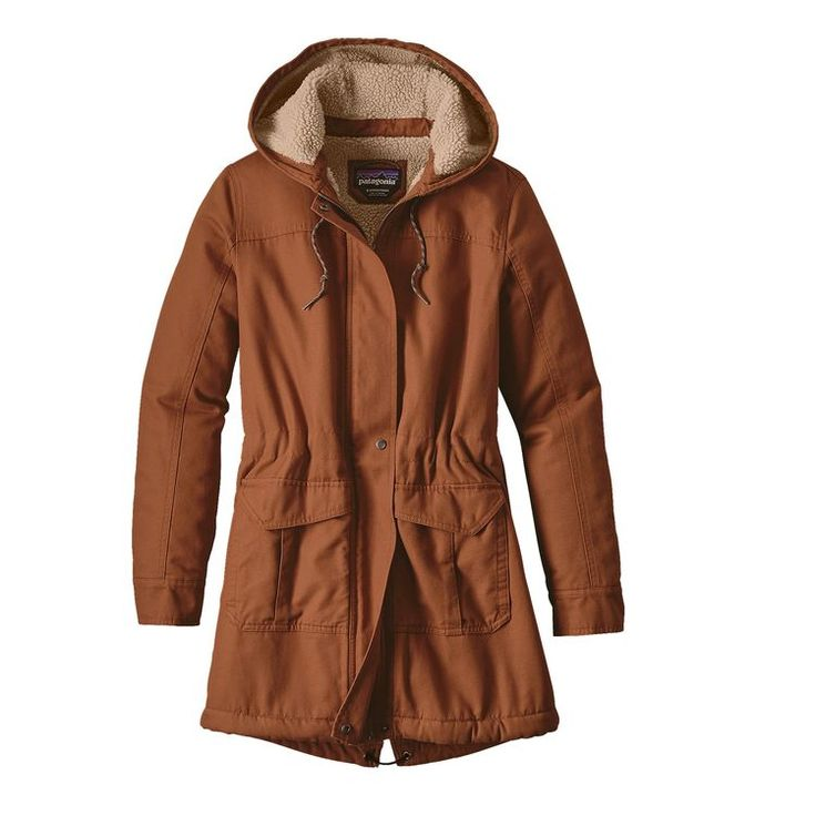 W'S INSULATED PRAIRIE DAWN PARKA, Saddle (SDL) - Patagonia