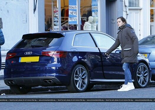 photo de Emma Watson Audi - voiture