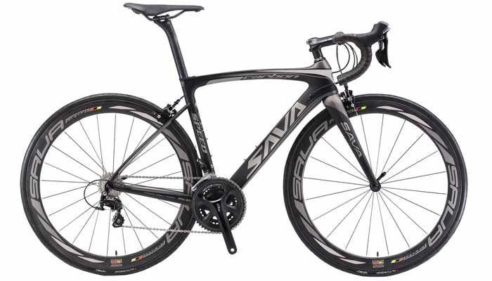 Carbon Road Bike, SAVA HERD6.0 T800 Carbon Fiber 700C Road