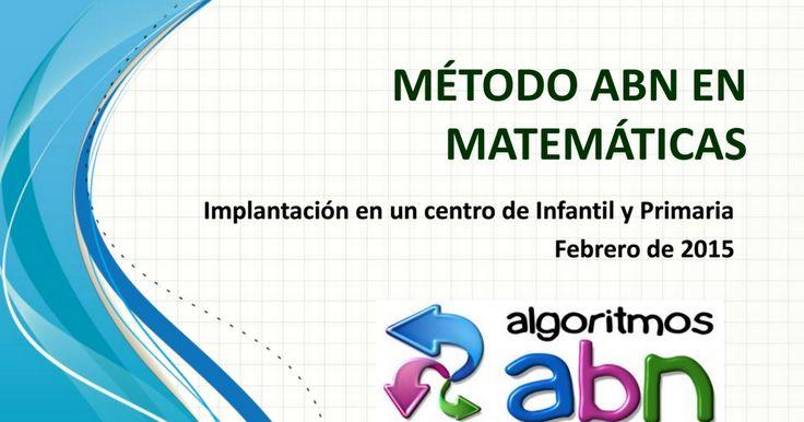 MÉTODO ABN EN MATEMÁTICAS.pdf