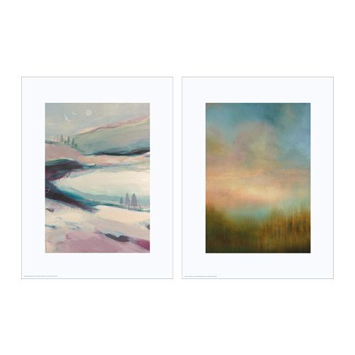 TVILLING Poster, set of 2, landscapes II