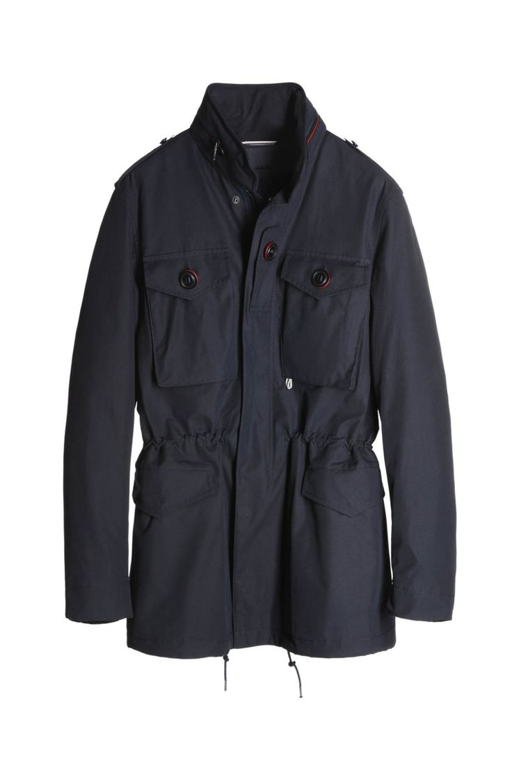 BIONDO ENDURANCE UK FIELD JACKET W/LINER GL_0003 Navy Blue