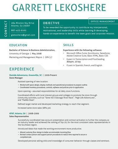 The 41 Best Resume Templates Ever. See More. Document