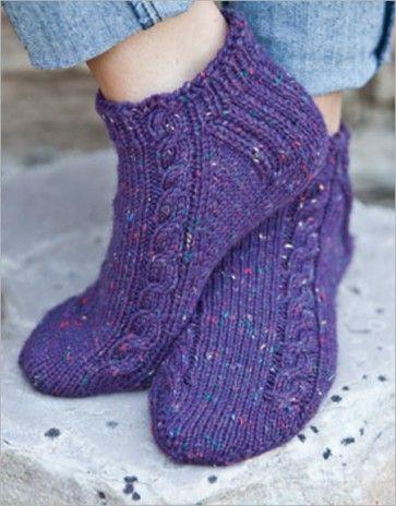 156 Best Footwear Knitting Patterns Images On Pinterest