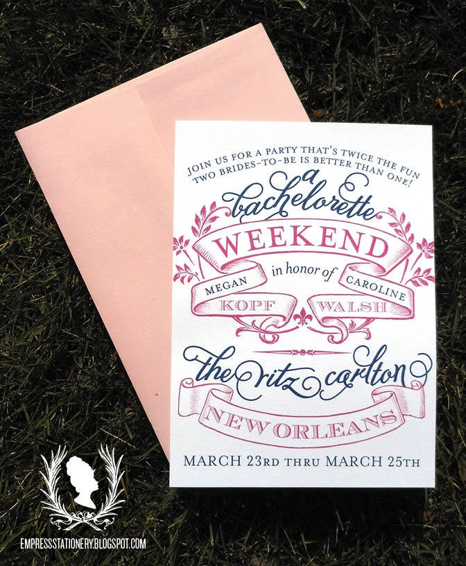 Best Cards Bachelorette Invites Images On
