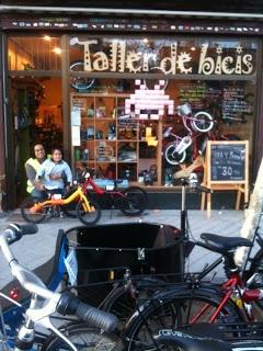 Okocicle, bicis en la zona de Chamartín (Madrid)