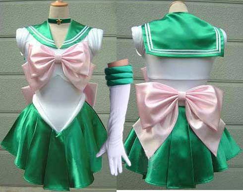 Sailor Moon costume Sailor Jupiter cosplay costume Lita fancy dress