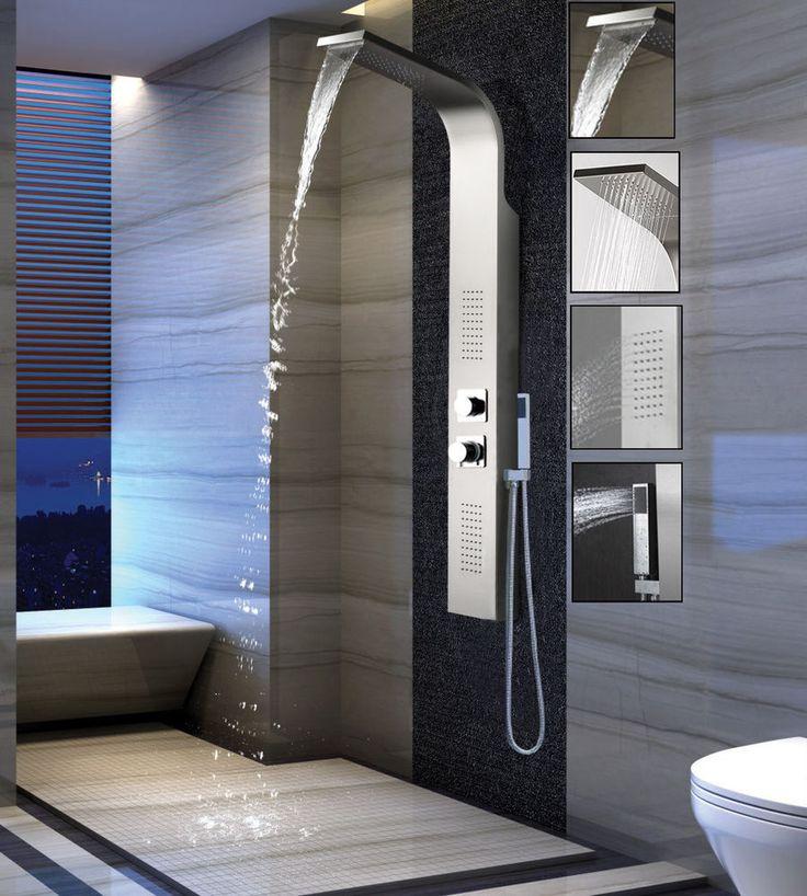 die 25 besten ideen zu duschs ule auf pinterest kiesboden dusche boden eingelassenen. Black Bedroom Furniture Sets. Home Design Ideas
