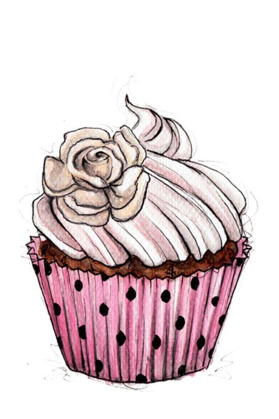 Birthday Cake Drwing
