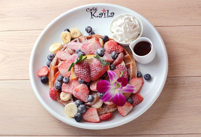 2014年8月、ハワイアンパンケーキ「カフェ・カイラ」がイクスピアリにやってくる!|VOGUE