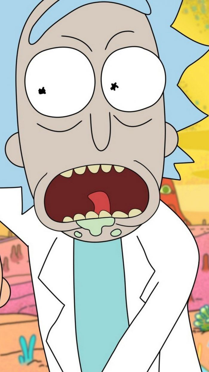 iPhone Wallpaper Rick and Morty 1080p (con imágenes