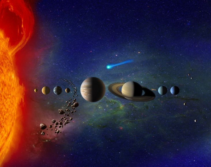 Solar System Exploration: Multimedia: Gallery: Planetary Images: Our Solar System