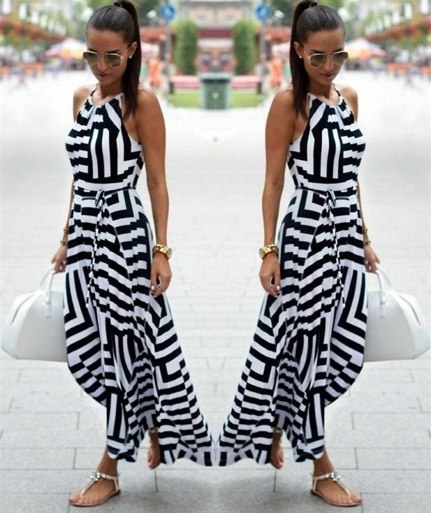 Great deals: Black & White Max... Check it out! http://zenworlds.net/products/black-white-maxi-sundress?utm_campaign=social_autopilot&utm_source=pin&utm_medium=pin